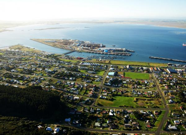 Bluff and Island Harbour