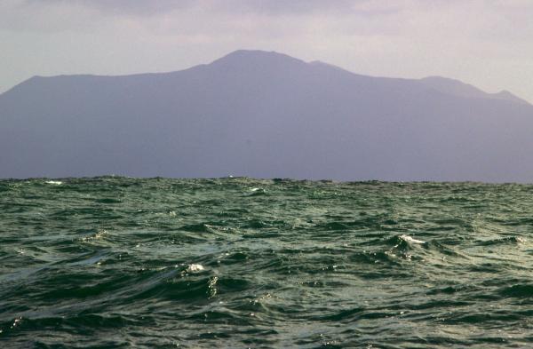 Stewart Island from Foveaux Strait