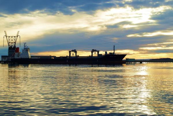Tiwai wharf